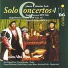 Bach: Sämtliche Solo-Konzerte Vol. 4