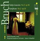 Bruch: Sinfonie Nr.2, Violinkonzert Nr.3