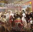 Sinfonie Nr.7, Klavier 4hd, Große Fuge op. 134, Klavier 4hd.