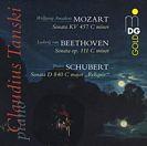 """Sonaten: op 111, KV 457, D 840 """"Reliquie"""""""