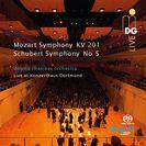Sinfonie A-Dur KV 201 + Sinfonie B-Dur D 485