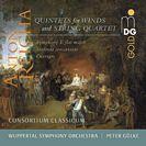 5 Quint. für Blasinstrument & Streichquartett, Orchesterwerke