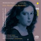 Projekt 1, Streichersinfonien, Klavierkonzet a-Moll